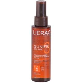 Lierac Sunific 3 олио за загар SPF 6  125 мл.