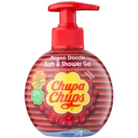Lip Smacker Chupa Chups sprchový a koupelový gel Cherry 300 ml