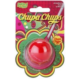 Lip Smacker Chupa Chups Lippenbalsam mit Fruchtgeschmack Geschmack Strawberry 7 g