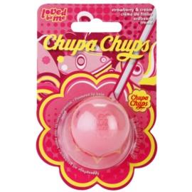 Lip Smacker Chupa Chups balsam de buze cu aroma de fructe aroma Strawberry & Cream 7 g