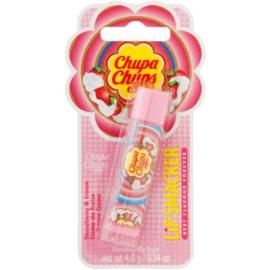 Lip Smacker Chupa Chups bálsamo labial sabor  Strawberry & Cream 4 g