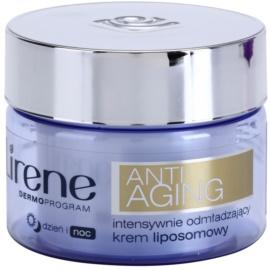 Lirene Anti-Aging интензивен подмладяващ крем против бръчки  50 мл.