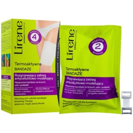 Lirene Anti-Cellulite Thermoaktive Bandagen gegen Zellulitis  4 St.