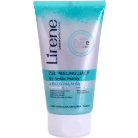 Lirene Algae Pure čistilni piling gel z gladilnim učinkom  150 ml