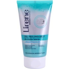 Lirene Algae Pure čisticí peelingový gel s vyhlazujícím efektem  150 ml