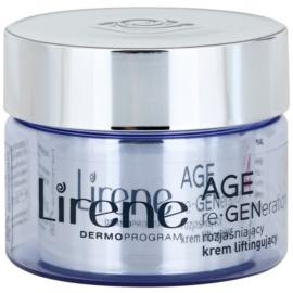 Lirene AGE re•GENeration 4 rozjasňujúci liftingový krém SPF 10  50 ml
