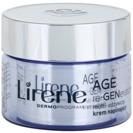 Lirene AGE re•GENeration 5 crema nutritiva con efecto alisante SPF 10 (70+) 50 ml