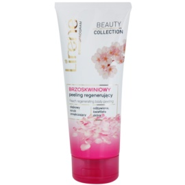 Lirene Beauty Collection Peach tělový peeling s regeneračním účinkem  200 ml