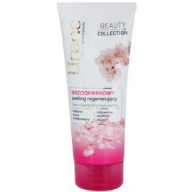 Lirene Beauty Collection Peach tělový peeling s regeneračním účinkem  200 ml