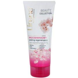 Lirene Beauty Collection Peach telový peeling s regeneračným účinkom  200 ml