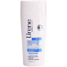 Lirene Beauty Care loción limpiadora con aceite de almendras  200 ml