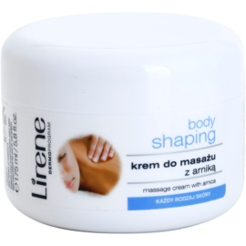Lirene Body Shaping Massagecreme mit Arnika  175 ml