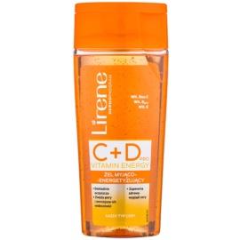 Lirene C+D Pro Vitamin Energy Reinigungsgel mit energetisierender Wirkung 30+  200 ml