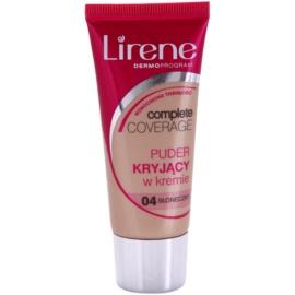 Lirene Complete Coverage crema cubre imperfecciones con efecto de polvos  tono 04 Sunny 30 ml