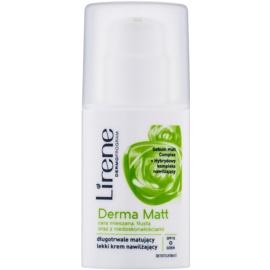 Lirene Derma Matt crema matificante hidratante SPF15  30 ml