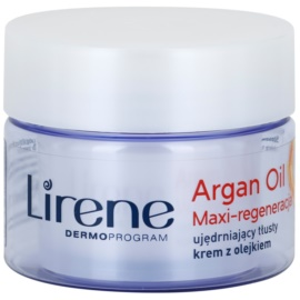 Lirene Essential Oils Argan Intensive Regenerating Cream For Dry Skin  50 ml