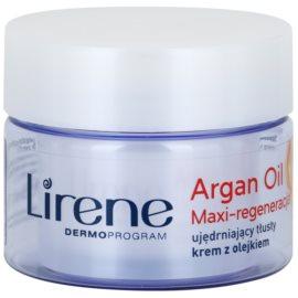 Lirene Essential Oils Argan intenzív regeneráló krém száraz bőrre  50 ml