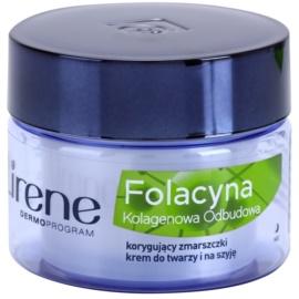 Lirene Folacyna 40+ нощен подмладяващ крем   50 мл.