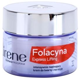 Lirene Folacyna 50+ crema de zi cu efect lifting  SPF 10  50 ml
