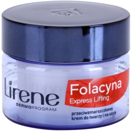 Lirene Folacyna 50+ crema de noche con efecto lifting  50 ml