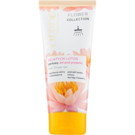 Lirene Flower Collection Asian Lotus gel de ducha con purpurina  200 ml