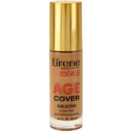 Lirene Idéale Age Cover fedő make-up folyadék a ráncok ellen 04 Tanned SPF 15  30 ml