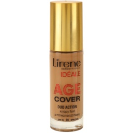 Lirene Idéale Age Cover krycí fluidní make-up proti vráskám 04 Tanned SPF 15  30 ml