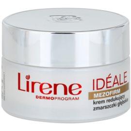 Lirene Idéale Mezofirm 55+ creme contra as rugas profundas SPF 15  50 ml