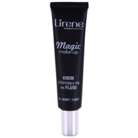 Lirene Magic fluidní make-up pro rozjasnění pleti odstín 01 Light 30 ml