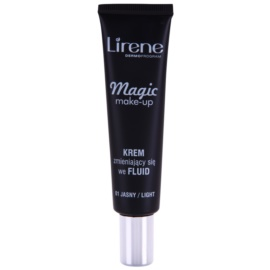 Lirene Magic base fluido para pele radiante tom 01 Light 30 ml
