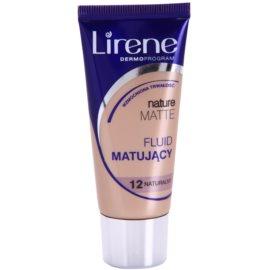 Lirene Nature Matte Make-up lichid matifiant pentru un efect de lunga durata culoare 12 Natural 30 ml