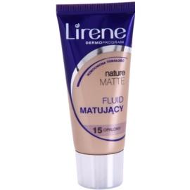 Lirene Nature Matte Make-up lichid matifiant pentru un efect de lunga durata culoare 15 Tanned 30 ml