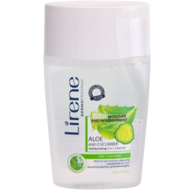 Lirene Moisture & Nourishment čisticí tonikum 2 v 1 okurka a aloe vera  125 ml
