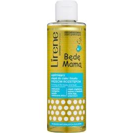 Lirene Mother to Be zpevňující olej na tělo a poprsí proti striím  200 ml