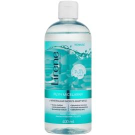 Lirene Micel Pure Matt micelárna voda s minerálmi z Mŕtveho mora  400 ml