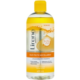 Lirene Micel Pure Nutri Two-Phase Micellar Water with Castor Oil  400 ml