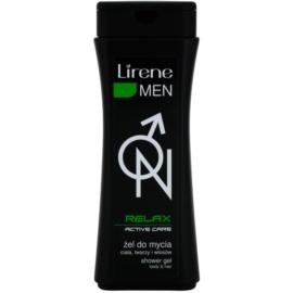 Lirene Men Relax gel de ducha para cabello y cuerpo  400 ml