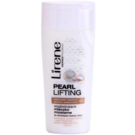 Lirene Pearl Lifting почистващ мицеларен лосион с изглаждащ ефект  200 мл.