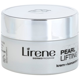 Lirene Pearl Lifting регенериращ нощен крем с ефект на серум 45+  50 мл.