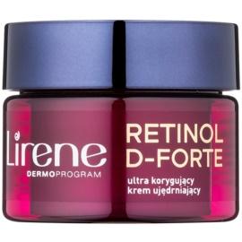 Lirene Retinol D-Forte 50+ crema de noche reafirmante  para corrección de arrugas   50 ml