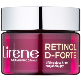 Lirene Retinol D-Forte 70+ crema iluminadora de día con efecto lifting  50 ml