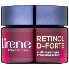 Lirene Retinol D-Forte 70+ crema de noche renovadora y regeneradora  50 ml