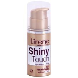 Lirene Shiny Touch rozświetlający podkład we fluidzie 16 godz. odcień 107 Beige (SPF 8) 30 ml