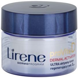 Lirene ProVita D Dermal Activator éjszakai aktív tápláló krém  50 ml