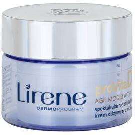 Lirene ProVita D Age Modelator creme nutritivo para rejuvenescimento da pele  50 ml