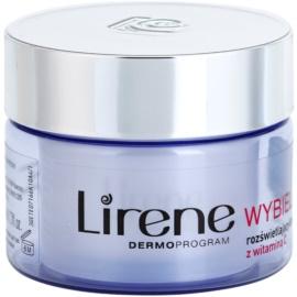 Lirene Whitening rozjasňující liftingový krém proti pigmentovým skvrnám SPF 25  50 ml