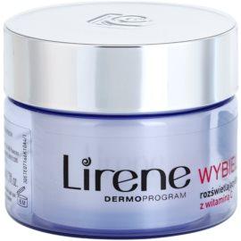 Lirene Whitening creme iluminador com efeito lifting anti-manchas de pigmentação SPF 25  50 ml