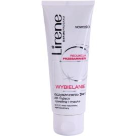 Lirene Whitening cuidado limpiador para manchas de pigmento   75 ml