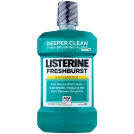 Listerine Fresh Burst elixir antiplaca  1500 ml