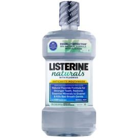 Listerine Naturals Herbal Mint antisséptico bucal com fluór  1000 ml